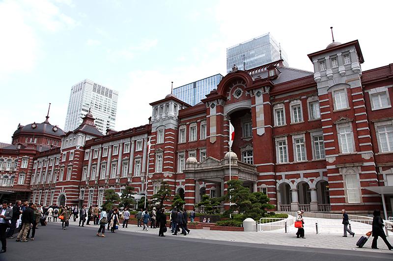 あけぼの薬局潮見店のある潮見駅から、この東京駅までは気軽に行ける距離